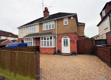 Thumbnail 4 bedroom semi-detached house for sale in Gratwicke Road, Tilehurst, Reading