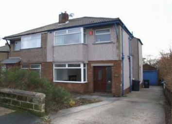 Thumbnail 3 bed semi-detached house to rent in Canford Road, Bradford