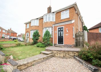 Thumbnail 3 bed semi-detached house for sale in Castleford Road, Leicester