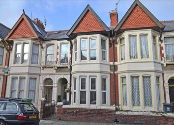 Thumbnail 3 bed terraced house for sale in Heathfield Road, Heath/Gabalfa, Cardiff