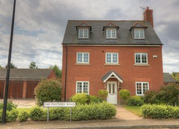 Thumbnail 6 bed detached house for sale in Far Pastures Road, Birstall, Leicester