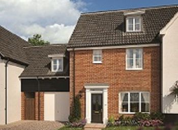 Thumbnail 4 bedroom link-detached house for sale in The Street, Bramford, Suffolk