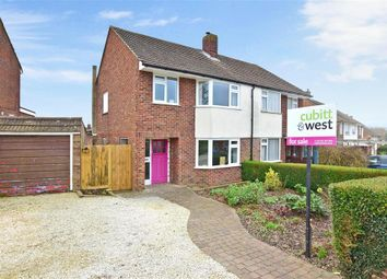Thumbnail 3 bed semi-detached house for sale in Leigh Road, Fareham, Hampshire