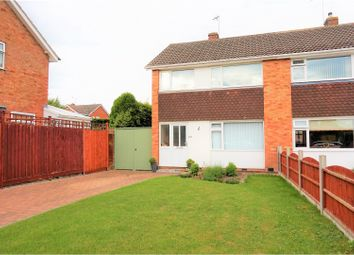 Thumbnail 3 bed semi-detached house for sale in Tyringham Road, Wigston