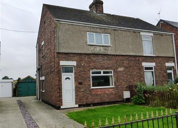 Thumbnail 2 bed semi-detached house for sale in Grange Lane South, Scunthorpe