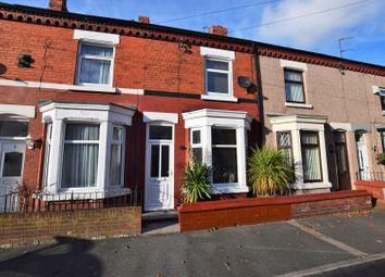 Thumbnail 2 bedroom terraced house for sale in Apsley Avenue, Wallasey