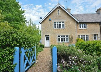 Thumbnail 4 bed semi-detached house for sale in Denton Road, Horton, Northampton