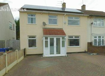 Thumbnail 4 bed semi-detached house for sale in Danesway, Scawthorpe, Doncaster.