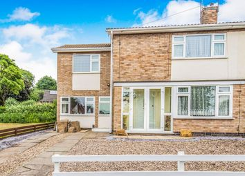Thumbnail 4 bed semi-detached house for sale in Orkney Close, Hinckley