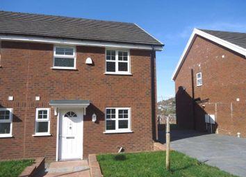 Thumbnail 3 bed semi-detached house to rent in Oak Road, Blaina, Abertillery