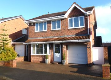 Thumbnail 4 bed detached house for sale in Springston Road, Hartlepool