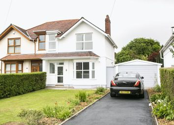 Thumbnail 3 bed semi-detached house for sale in Gower Road, Killay, Swansea