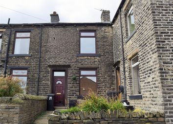 Thumbnail 1 bed terraced house to rent in Upper Lane, Northowram, Halifax