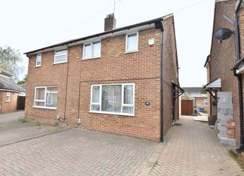 Thumbnail 2 bed semi-detached house for sale in Eastfield Close, Luton