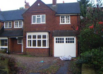 Thumbnail 4 bed semi-detached house to rent in Swanshurst Lane, Moseley, Birmingham