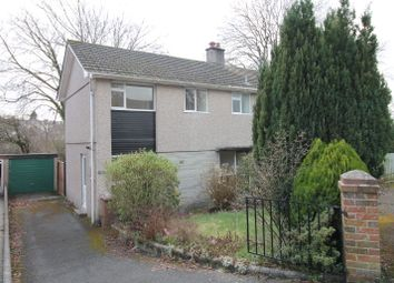Thumbnail 3 bedroom semi-detached house for sale in Pinewood Close, Plympton, Plymouth
