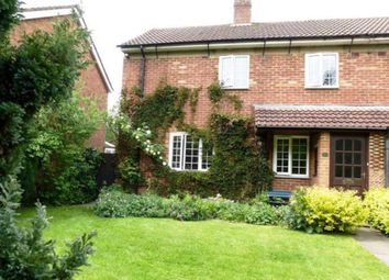 Thumbnail 4 bed semi-detached house for sale in Crow Lane, Husborne Crawley