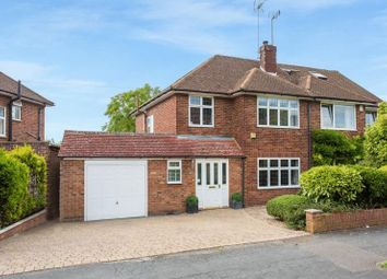 Thumbnail 3 bed semi-detached house for sale in Carver Hill Road, High Wycombe