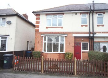 Thumbnail 3 bedroom semi-detached house to rent in Priesthills Road, Hinckley