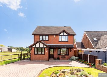 Thumbnail 3 bed detached house for sale in Ashby Road, No Mans Heath, Tamworth