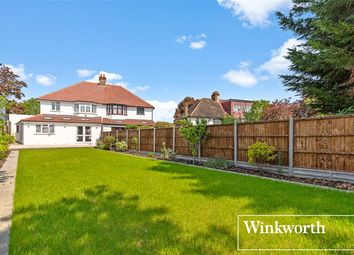 Thumbnail 3 bed semi-detached house for sale in Whitchurch Lane, Edgware, Middlesex
