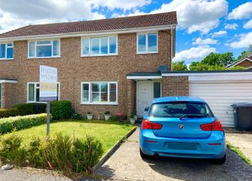 3 bed semi-detached house for sale in Balfour Crescent, Wash Common, Newbury RG14