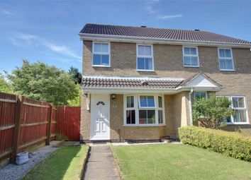 Thumbnail 3 bedroom semi-detached house for sale in Ennerdale Close, Huntingdon