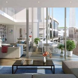 Thumbnail 3 bed flat for sale in New Union Square, London