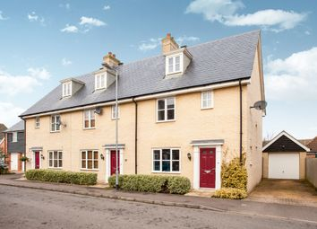Thumbnail 3 bed town house for sale in Cyprian Rust Way, Soham, Ely