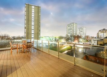 Thumbnail 3 bed flat for sale in Waterfront Apartments, 82 Amberley Road, London