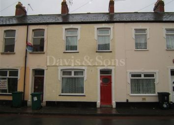 Thumbnail 3 bed terraced house to rent in Oakley Street, Newport