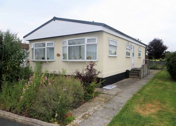 Thumbnail 2 bed mobile/park home for sale in Oaktree Park, Locking, Weston Super Mare