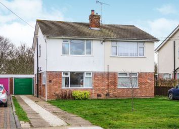 Thumbnail 2 bed semi-detached house for sale in Glebe Road, Wickford
