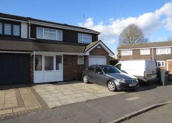 Thumbnail 3 bed semi-detached house for sale in Lampits, Hoddesdon