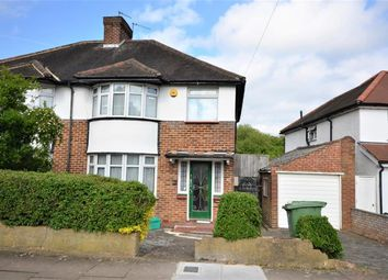 Thumbnail 3 bedroom semi-detached house for sale in Ravenscoroft Avenue, Wembley, Preston Road Area, Middlesex