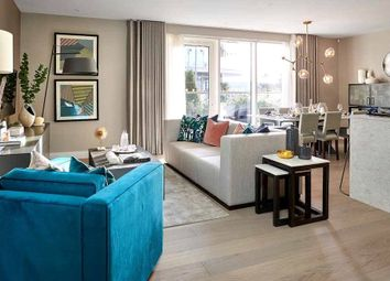 Thumbnail 1 bed flat for sale in Fairfax House, Fulham Reach, London