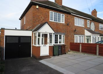 Thumbnail 3 bedroom end terrace house for sale in York Avenue, Walsall