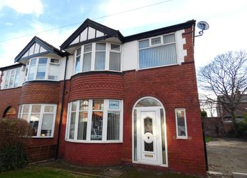 Thumbnail 3 bed semi-detached house for sale in Northleigh Road, Firswood