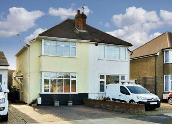 Thumbnail 2 bed semi-detached house for sale in Oakcroft Villas, Chessington