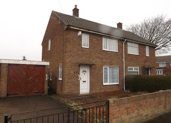 Thumbnail 2 bed semi-detached house for sale in Stephenson Road, Amble, Morpeth, Northumberland