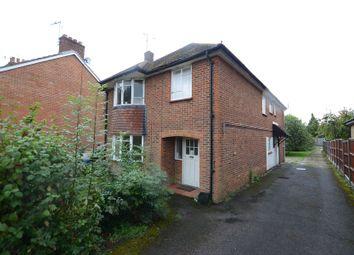 Thumbnail 1 bedroom maisonette to rent in Holly Road, Aldershot