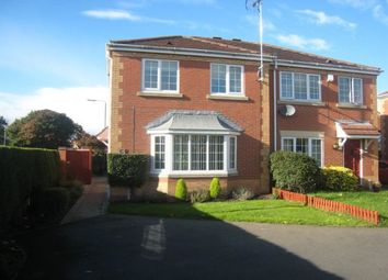 Thumbnail 3 bed semi-detached house to rent in Leafe Close, Beeston, Nottingham