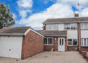 Thumbnail 4 bed semi-detached house for sale in Vicarage Lane, Hoo, Rochester