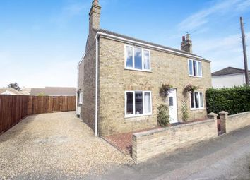 Thumbnail 3 bedroom detached house for sale in West End, Whittlesey, Peterborough