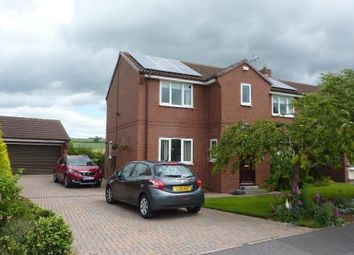 Thumbnail 4 bed detached house for sale in Turker Lane, Northallerton