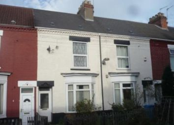 Thumbnail 2 bedroom terraced house to rent in Derwent Grove, Princes Road, Hull