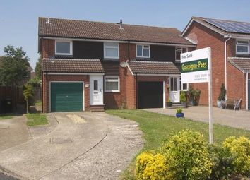 Thumbnail 3 bed semi-detached house for sale in Denvilles, Havant, Hampshire