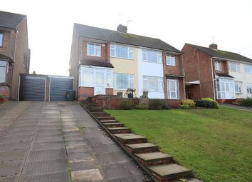 Thumbnail 3 bed semi-detached house for sale in Claverdon Road 7Hp, Coventry, West Midlands