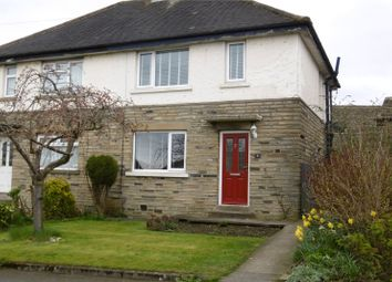 Thumbnail 2 bed semi-detached house to rent in Towngate Avenue, Clifton, Brighouse