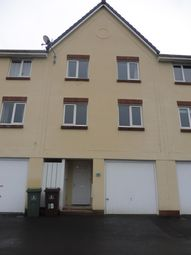 Thumbnail 4 bed town house to rent in Bridge View, Plymouth